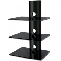 BEST 3-Deck Wall Mount Receiver Shelfing Unit
